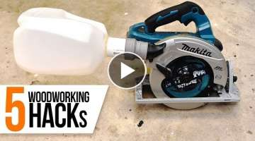 5 Amazing Woodworking Tips / Hacks