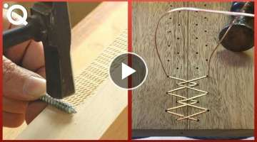 Satisfying Wood Carving & Ingenious Woodworking Joints