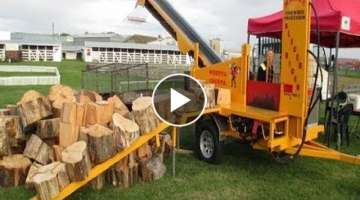 10 Amazing Automatic Firewood Processing Machine