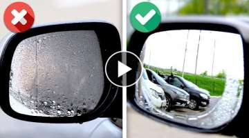 35 SIMPLE YET USEFUL CAR HACKS NOBODY TOLD YOU ABOUT
