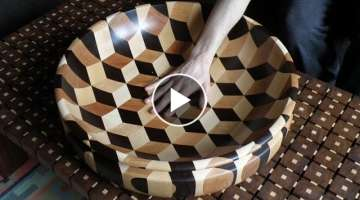 Woodturning - Tumbling bowl xl