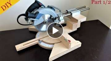 Homemade Miter Saw Build Part 1