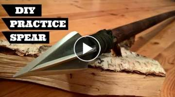 How To Make a Spear | DIY Practice Spear | DIY Wall Decoration