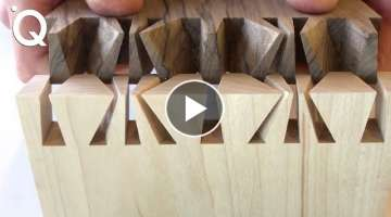 Amazing Woodworking Techniques And Skills | Build Magic Wood Joints ▶2