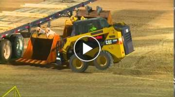 John Deere 318E skid steer vs Competition 3350 LB lift