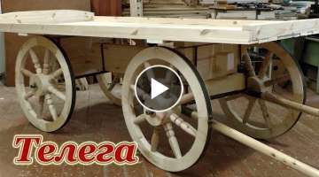 How to make Horse Cart step by step