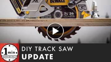 DIY Saw Track Update