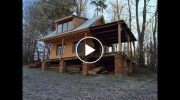 How to build a wooden cottage ( log cabin, log house )
