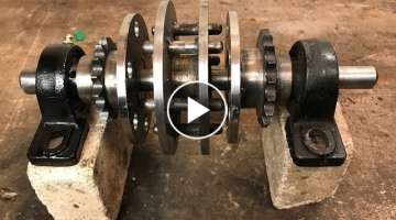 Making a two speed go kart transmission