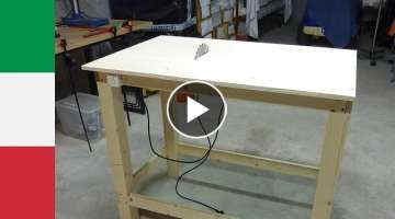 Making a Homemade Table Saw (part 1)