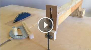 4 in 1 Workshop Accessories (blade guide, miter gauge, crosscut sled)