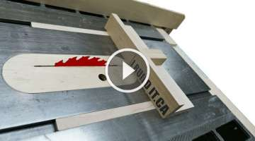 Building The Mini Table Saw Sled