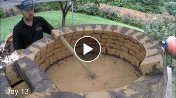 How To Build Pompeii Brick Pizza Oven