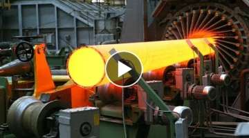 Hypnotic Video Inside , Tube Manufacturing , Oil pipe , Huge pipes