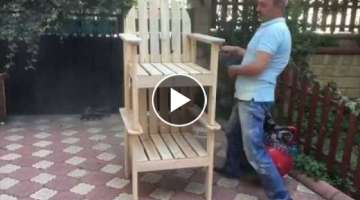 How To Make Pallet Chair!