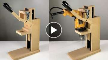 HOMEMADE DRILL PRESS