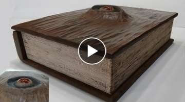 Wood Spell Book/Box - Fun DIY Woodworking Project