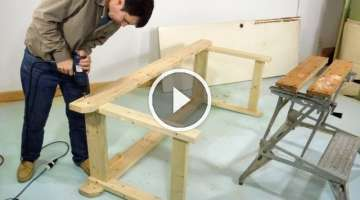 Simple sturdy workbench build