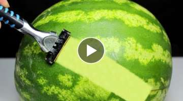 10 SMART İDEAS - Watermelon Tricks!