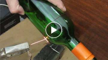 Glass Bottle Cutter With 12V Battery