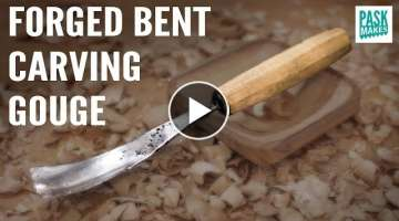 Homemade Bent Carving Gouge