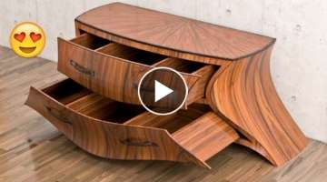 20 Amazing WoodWorking Skills Techniques Tools- Wood DIY Projects