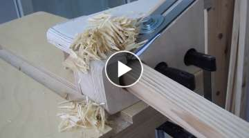 Making 25mm Dowel Rod