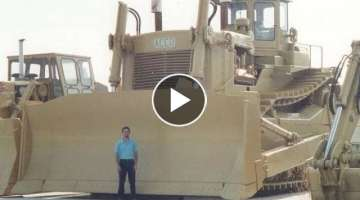 Extreme DIESEL ENGINE BULLDOZERS 5 Biggest DIRT PUSHERS in Existence