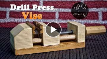 Drill Press Vise, how to make