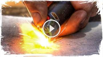 How To Fix A Fire with a Broken Lighter