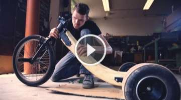 Building WORLDS FIRST REAL OAKEN WOOD Drift Trike!!!