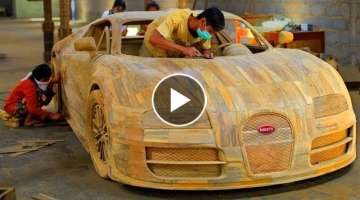 5 AMAZING HANDMADE WOODEN CARS ▶ Speed Like Ferrari, Audi, Lamborghini, BMW