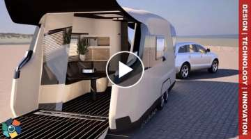 15 AWESOME CARAVANS & INNOVATIVE CAMPERS