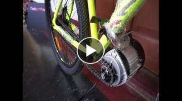 Build a powerful Electric Bicycle at home(BLDC 750W MOTOR)