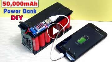 How to Make a 50,000 mAh Power Bank from Scrap Laptop Battery