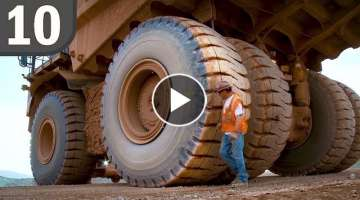 Top 10 Biggest Tires In Existence