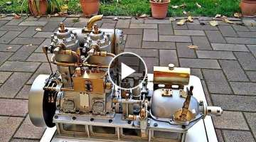 Most Amazing Miniature & Model Engines In The World