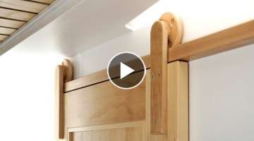 How To Make Wooden Barn Door Hardware