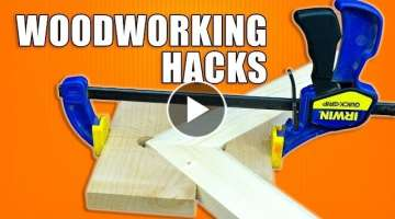 Woodworking Tips and Tricks / 5 Hacks for Clamps