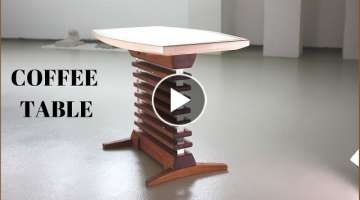 Tony Stark Style Coffee Table / Making Coffee Table