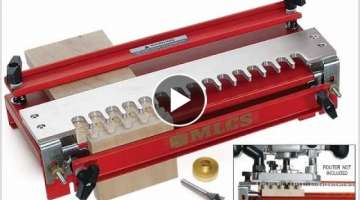 MLCS Woodworking Dovetail Jig Set Up and Use