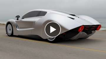 The 1,5M$ Hispano Suiza Carmen 1,019hp Eelectric Car