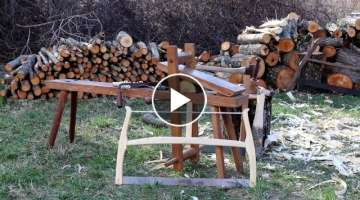 Peaceful Woodworking - Making a Frame Saw with Traditional Hand Tools