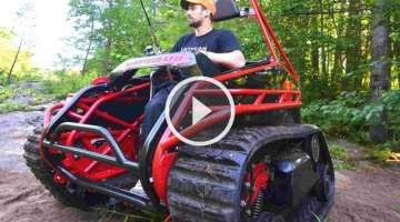 Extreme Offroad Tracked Wheelchair the Original Ripchair 2.0