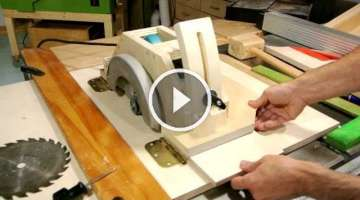 Homemade table saw