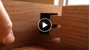 Simple Woodworking Tehnique | Woodworking Skill