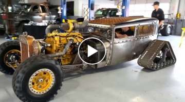 Top 10 Mad Max Cars & Trucks Craziest Rat Rods