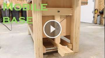 Workbench mobile base