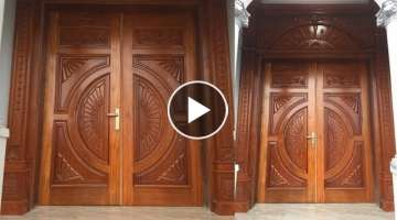 Techniques Smart Carpenters Woodworking Skills Design Ideas And Decorations Of Doors Front Beauti...