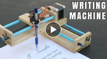 How To Make Homework Writing Machine at Home